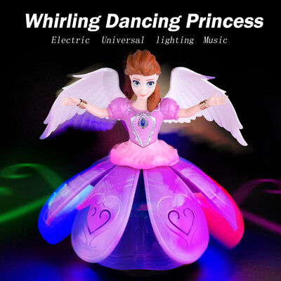 Toys For Girls LED dance doll Toy Kids Light music 5 6 7 8 9Year Xmas Cool gifts