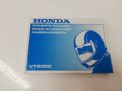 Libretto Manual uso manutenzione use maintenance Multilingua HONDA VT 600 C 96