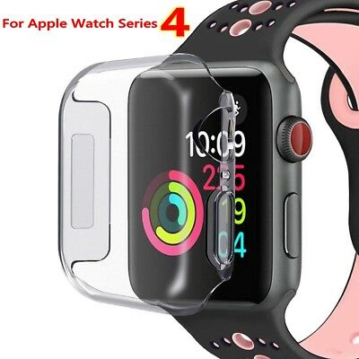 Apple Watch Series 4 Full Body Cover TPU Case Screen Protector iWatch 40/44mm be