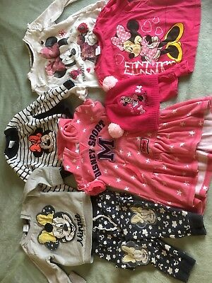 Disney Minnie Mouse Bundle Girls (2-3 Years). Dress Tops Jumper Tracksuit