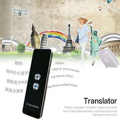 Mini Smart Real Time Two-Way Voice Translator for Learning Travel Meeting