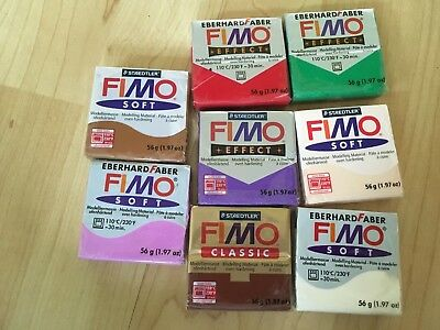 New Fimo Polymer Clay Assorted Colours