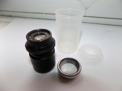 Vintage Brass Camera Lens Dallmeyer Popular F = 1 1/2'' F/4