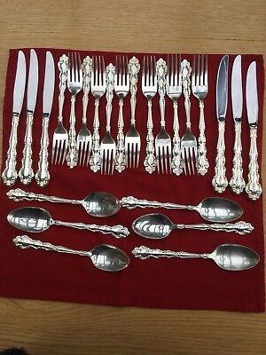 Oneida Community Mansion House silver plated cutlery