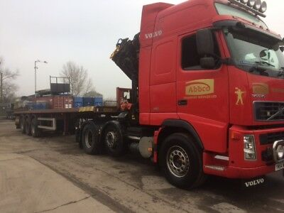 Montracon 40ft Flat Trailer (Ideal for Crane Lorry) No VAT.