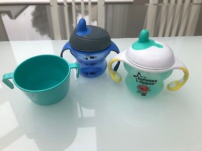 Doidy Cup And 2 Tommee Tippee Cups