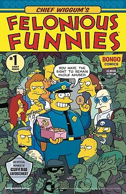 CHIEF WIGGUMS FELONIOUS FUNNIES #1 (2018) - Regular Cover - New Bagged