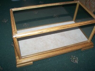 High Quality Perspex and Wood Display Case - Models / Taxidermy / etc