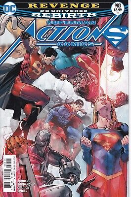 ACTION COMICS (2016) #983 - Cover A - DC Universe Rebirth - New Bagged