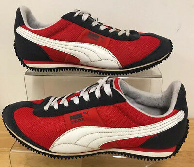 new arrival offer discounts free delivery PUMA SPEEDER TRAINERS Old Skool Retro Black Red White - Size ...