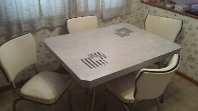 1950's Kitchen Table and Chair Set