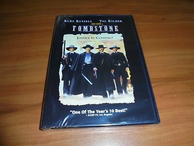 Tombstone (DVD Widescreen 1997)  Kurt Russell, Val Kilmer NEW