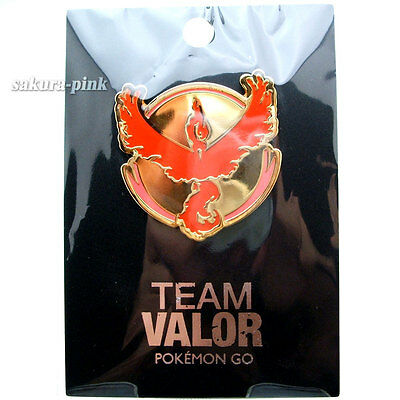 Team VALOR Pokemon Go Official Pin Pokemon Center Limited Authentic Japan