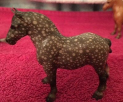 Breyer Stablemate Lot of 1 vintage G1 Drafter Dapple gray