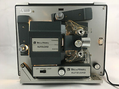 Vintage Bell & Howell Autoload Super 8 mm Projector Model 357B With Lid #88