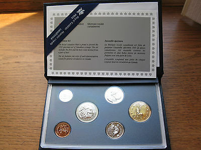 1995 Royal Canadian Mint Specimen Set