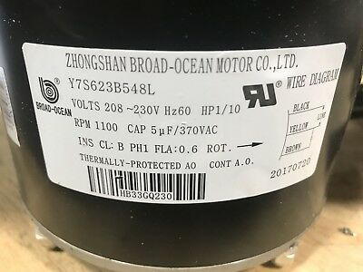 Carrier/Bryant Outdoor Fan Motor HB33GQ230