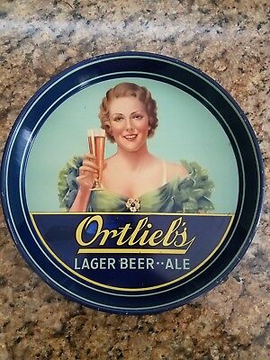 Ortleib's Beer Tray - Beautiful Woman Graphics