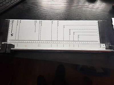 Dahle Personal Paper Trimmer / Guillotine