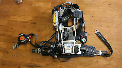 Used Scott 4.5 AP50 CBRN 2002 Spec Air Pack Intigrated PASS SCBA Harness (#9)