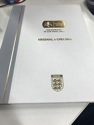 The Emirates Fa Cup Final 2017 Arsenal V Chelsea Limited Edition Programme   Kg