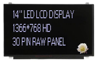 "Dell Latitude E7470 3460 Inspiron 3467 14/"" WXGA HD LCD LED Screen KFC4D 30PIN"