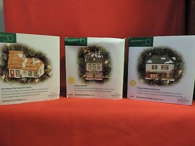 Christmas Carol Cottages - Set 0f 3 - Department 56