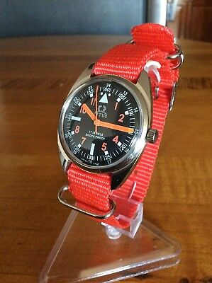 Vintage Rare Hand-Winding Swiss Made Wrist Watch One Of The Kind