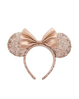 SOLD OUT brand new Rose Gold Disney parks Minnie Ears