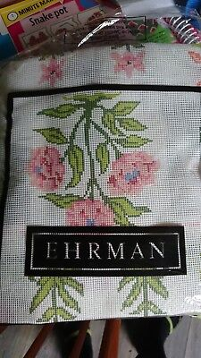 Ehrman Tapestry Kit Carnation Blue discontinued  not started