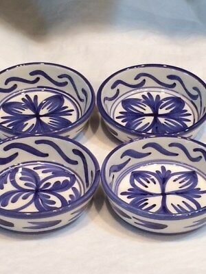 Blue & White Ceramic Coasters