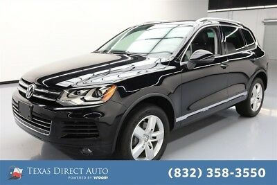 Volkswagen Touareg Lux Texas Direct Auto 2014 Lux Used 3.6L V6 24V Automatic AWD SUV Moonroof Premium