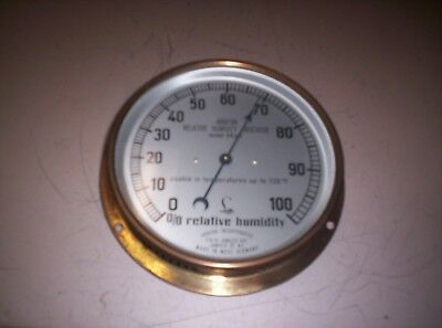 Vintage Abbeon Relative Humidity Indicator Model AB62