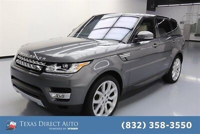 Land Rover Range Rover Sport V6 Diesel HSE Texas Direct Auto 2016 V6 Diesel HSE Used Turbo 3L V6 24V Automatic 4WD SUV
