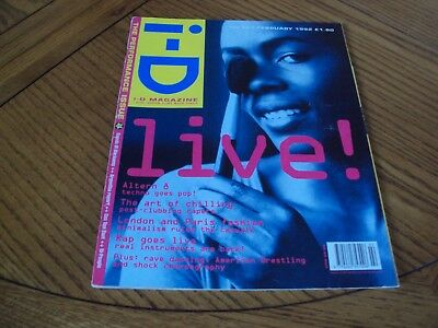 I-D Magazine February 1992 The Performance Issue