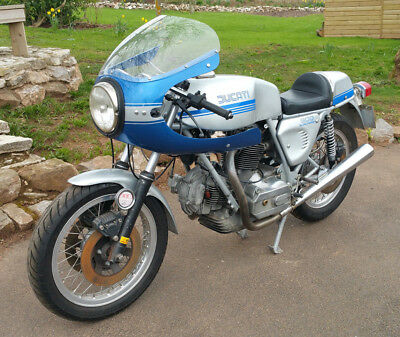 fabulous ducati 900ss sports v twin vintage classic motorcycle - 1981 - come see