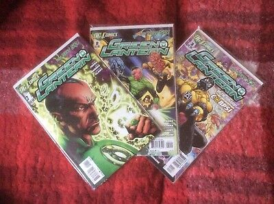 Green Lantern #1, #2, & #3 - DC COMICS - The New 52 - FIRST PRINT/NF