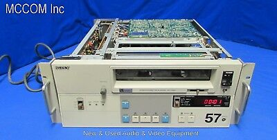 "Sony VP-7020 3/4"" UMatic Player w/ 1850 hrs  AS IS for parts"