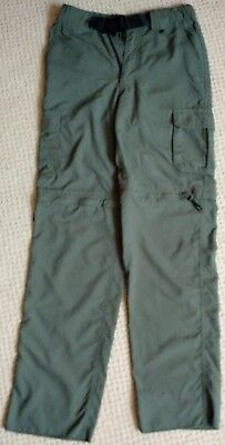 Boy Scouts of America Switchbacks Convertible Pants + Belt Youth Large NWOT