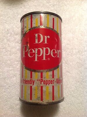 Dr Pepper 1960 Pre Zip Flat Top 12 oz Can