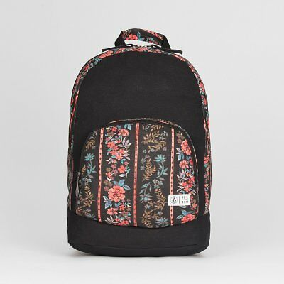 Volcom Schoolyard Women's Backpack Black Print