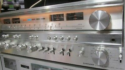 CLEAN Vintage Pioneer SX-980 Stereo Receiver EXCL Serviced