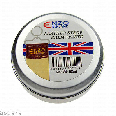 New Leather Softener Softening Paste Balm For Straight Cut Throat Razor Strop