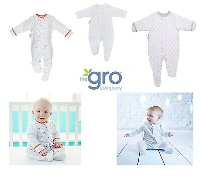 Grobag sleeping bag Gro Suit Sleepsuit grosuit Romper Padded Arms 0 3 6 9 12 18