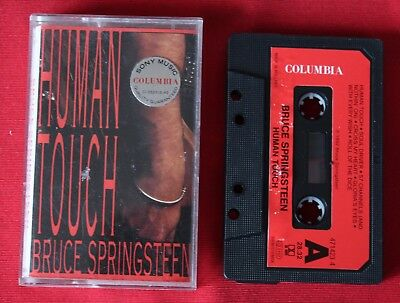 Bruce Springsteen, human touch. K7 audio / Audio tape