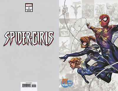 Spider-Girls 1 Yasmine Putri Nycc Px New York Comic Con Variant Nm