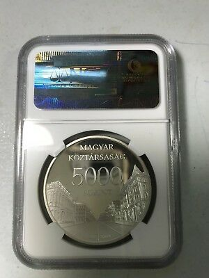 2009 Hungary 5000 Froint silver world coin NGC PF69 Rare low mintage of 5,000