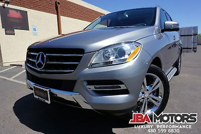 Mercedes-Benz ML350 2013 ML350 ML Class 350 4Matic AWD SUV 13 ML350 ML Class 350 4Matic AWD SUV Clean CarFax like 2010 2011 2012 2014 2015