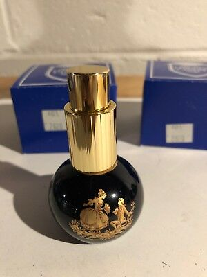 """Brand New W/ Box Limoges Castel France 3"""" Small Perfume Atomizer With Spritzer"""