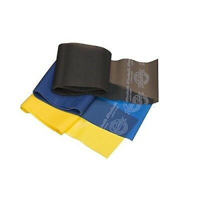 (Old Version, Yellow/Blue/Black) - TheraBand Professional Non-Latex Resistance